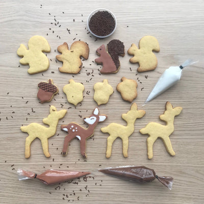 Forest Friends Cookie Decorating Kit