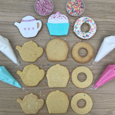 Tea Party Cookie Decorating Kit