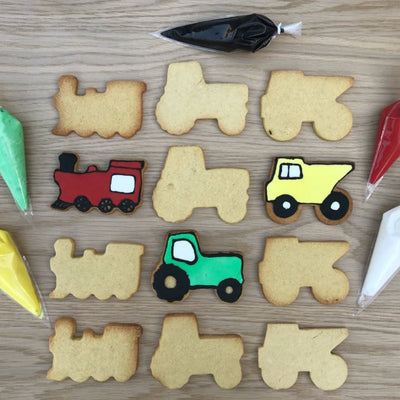 Transport Cookie Decorating Kit