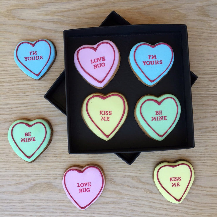 Valentine Gift Love Heart Cookie Box