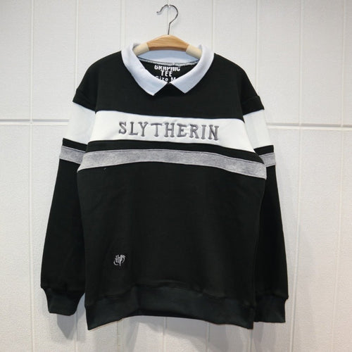 Harry Potter Slytherin Fleece Sweater Cosplay Costume