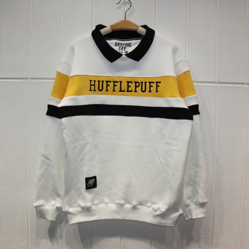 Harry Potter Hufflepuff Fleece Sweater Cosplay Costume