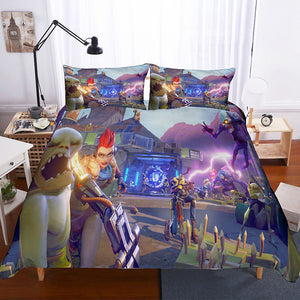 Game Fortnite Outlander Skin Bedding Set Duvet Cover Set Bedroom Set Bedlinen 3D Bag