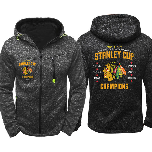 NHL Hockey #1 Pull over Hoodie Sweatshirt Autumn Winter Unisex Rugby Sweater Zipper Jacket Coat