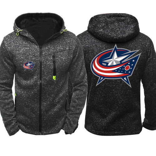 NHL Hockey #2 Pull over Hoodie Sweatshirt Autumn Winter Unisex Rugby Sweater Zipper Jacket Coat
