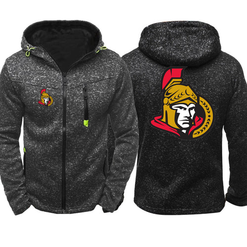 NHL Hockey #3 Pull over Hoodie Sweatshirt Autumn Winter Unisex Rugby Sweater Zipper Jacket Coat