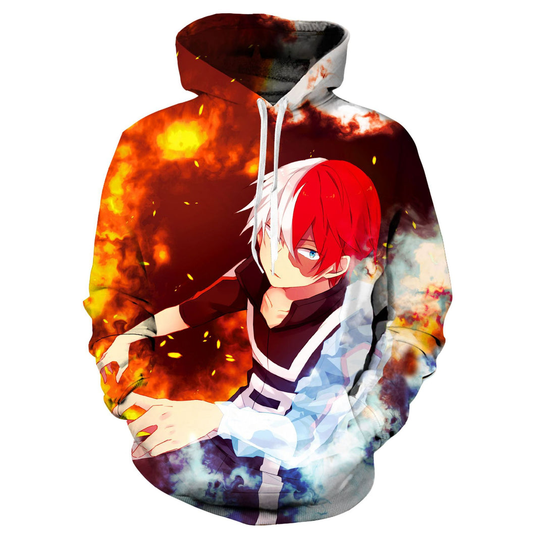 Boku My Hero Academia #3 Hoodie Adults Pull-over Sweartshirts Suits Casual Coat Outwear