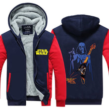 Load image into Gallery viewer, Star Wars #4 Darth Vader Pull over Hoodie Sweatshirt Autumn Winter Unisex Sweater Zipper Jacket Coat