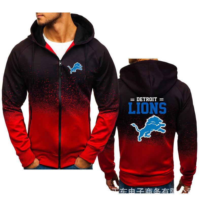 NFL Football #3 Pull over Hoodie Sweatshirt Rugby Spring Autumn Unisex Sweater Zipper Jacket Coat