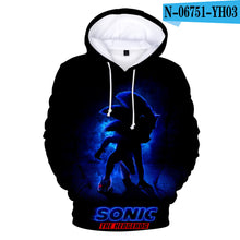 Load image into Gallery viewer, Sonic the hedgehog #2 3D Hoodie Coat Unisex Sweatshirts Pullovers Outerwear Hoodie Jacket Tracksuits Streetwear Hoody