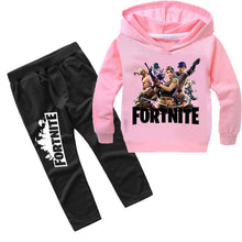 Load image into Gallery viewer, Fortnite New Casual Children Suits Hoodies Long Sleeve  Fashion Spring Autumn Set