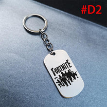 Load image into Gallery viewer, Game Fortnite Battle Royale Keychain Stainless Steel  Key Chain