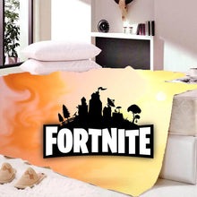 Load image into Gallery viewer, Game Fortnite Battle Royale Sherpa Fleece Bedding Blanket Game Skin Xbx