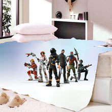 Load image into Gallery viewer, Game Fortnite Sherpa Fleece Bedding Blanket Game Skin PS4
