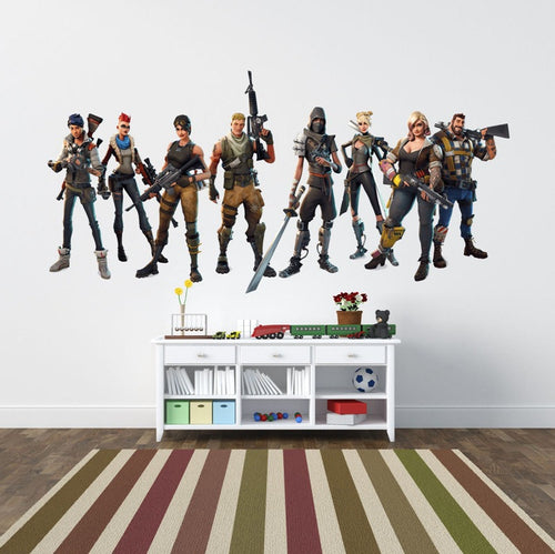 Fortnite Xbox-PS4 Vinyl Decal Gaming Bedroom Sticker Wall Art