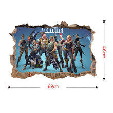 Load image into Gallery viewer, Game Fortnite Xbox-PS4 Vinyl Decal Gaming Bedroom Sticker Wall Art