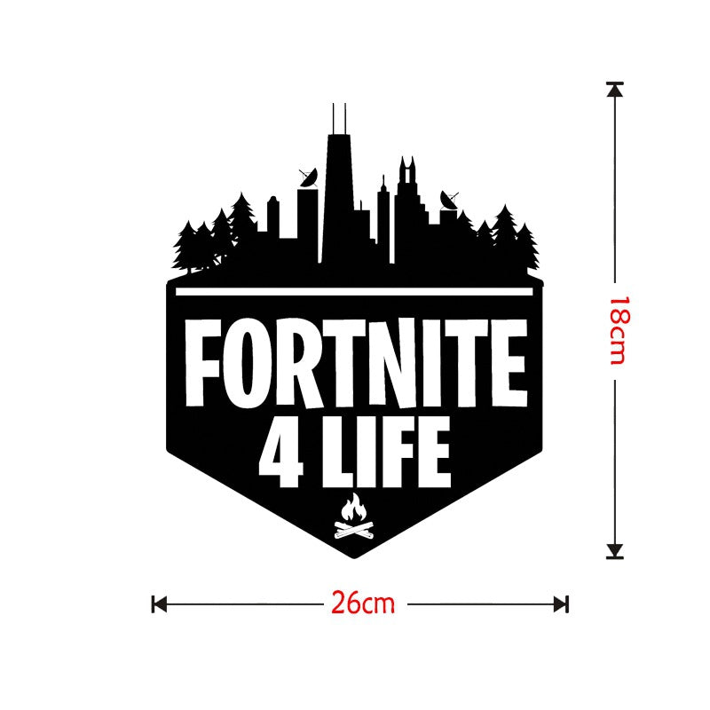 Game Fortnite Xbox-PS4 Vinyl Decal Gaming Bedroom Sticker