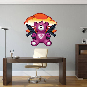 Game Fortnite Cuddle Team Leader Xbox-PS4 Vinyl Decal Gaming Bedroom Sticker Wall Art