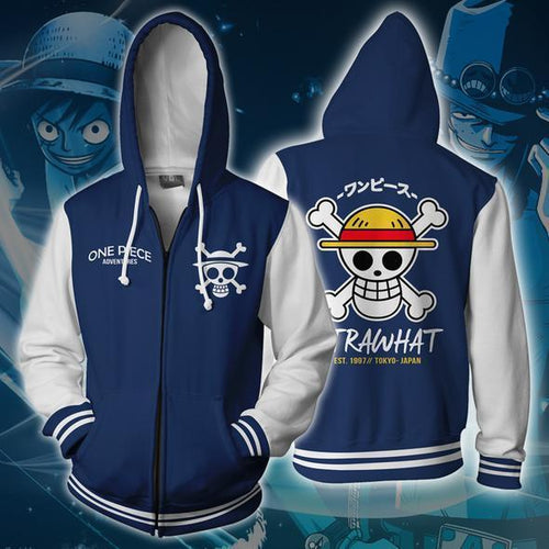 One Piece Strawhat Sweater Cosplay Costume