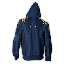 Load image into Gallery viewer, Star Trek Beyond Captain Kirk Cosplay Costume Hoodie Sweatshirts Sweater Zipper Jackets