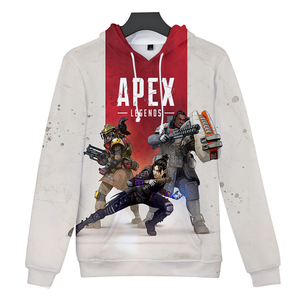 Game Apex Legends Cosplay Sweater Hoodie For Kids Adults