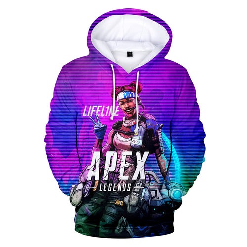 Game Apex Legends Lifeline Cosplay Sweater Hoodie For Kids Adults