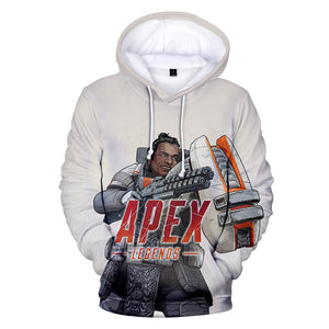 Game Apex Legends Gibraltar Cosplay Sweater Hoodie For Kids Adults
