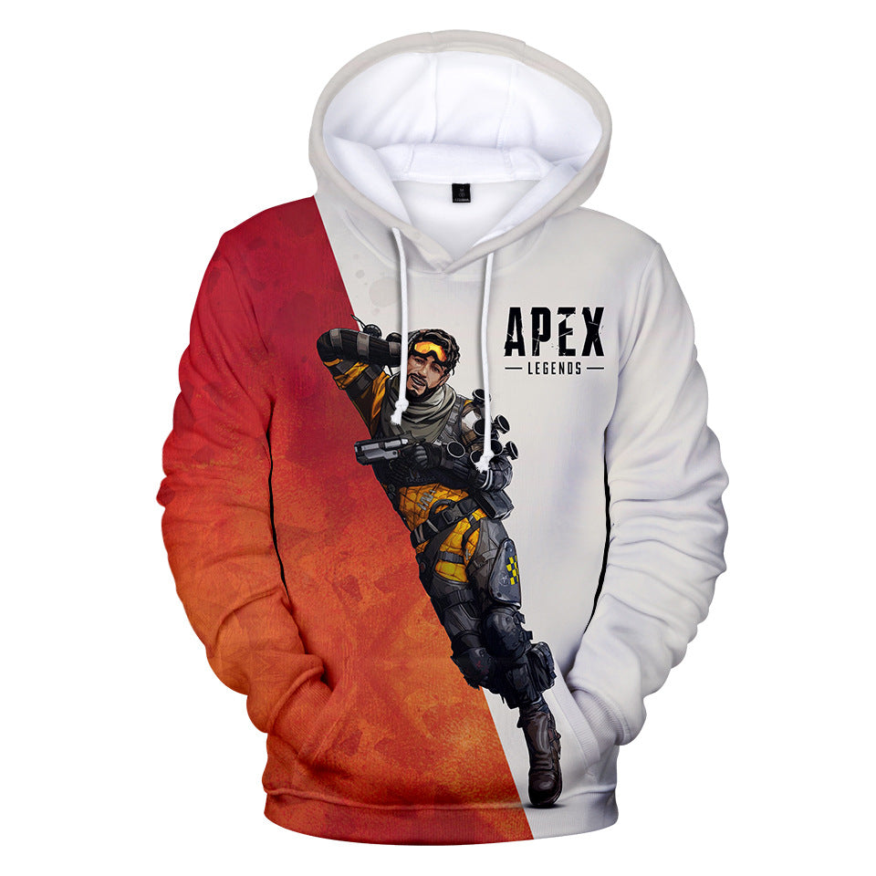 Game Apex Legends Mirage Cosplay Sweater Hoodie For Kids Adults
