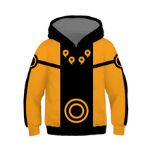 Load image into Gallery viewer, Anime NARUTO Uzumaki Cosplay Sweater Hoodie For Kids Boy