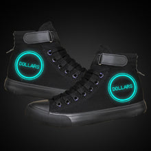 Load image into Gallery viewer, Anime DuRaRaRa High Tops Casual Canvas Shoes Unisex Sneakers Luminous