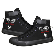 Load image into Gallery viewer, Paris Saint Germain Mbappe 10 High Tops Casual Canvas Shoes Unisex Sneakers