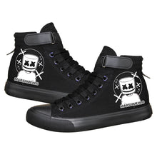 Load image into Gallery viewer, Game Fortnite Marshmello Skin High Top Sneaker Cosplay Shoes