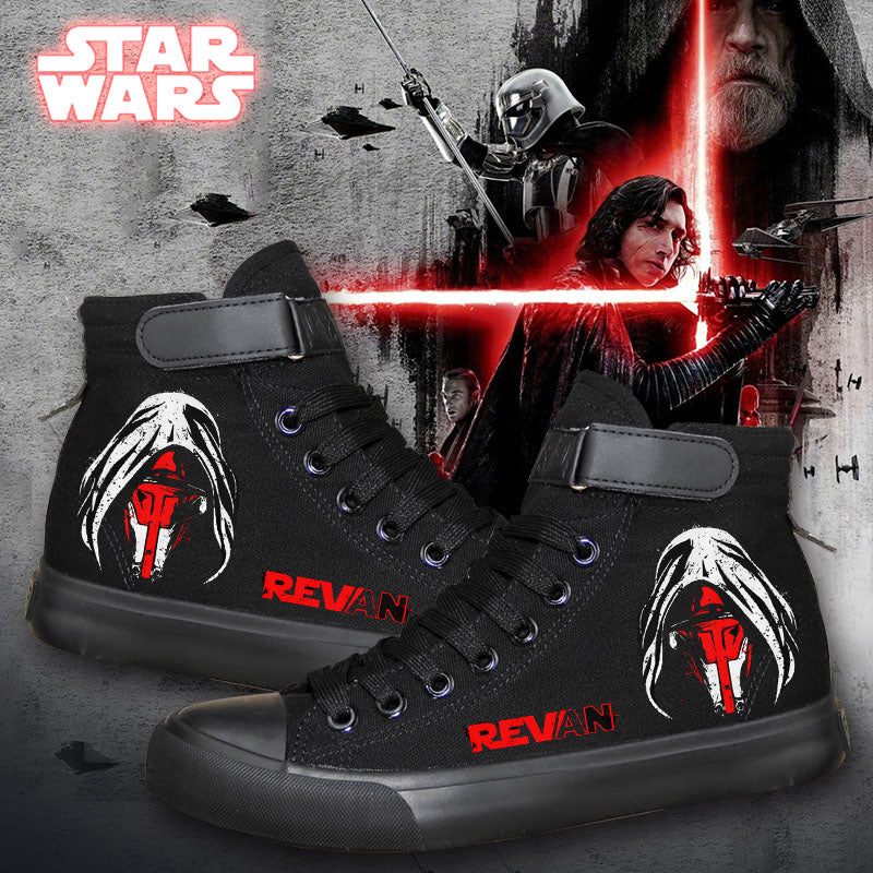 Star Wars Revan High Top Sneaker Cosplay Shoes