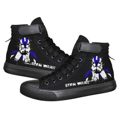Star Wars Stormtrooper High Top Sneaker Cosplay Shoes