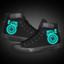 Load image into Gallery viewer, Star Wars Droid Robot BB 8 High Top Sneaker Cosplay Shoes