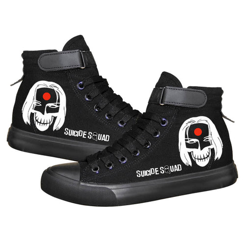 DC Comics Suicide Squad High Top Sneaker Cosplay Shoes