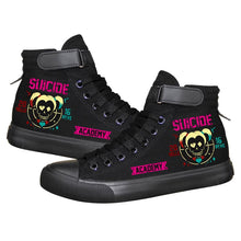 Load image into Gallery viewer, DC Comics Suicide Squad Harley Quinn High Top Sneaker Cosplay Shoes
