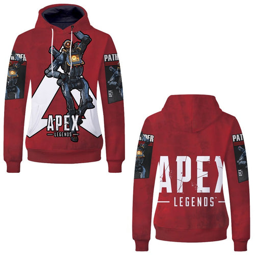 Game Apex Legends Pathfinder Skin Cosplay Sweater Hoodie