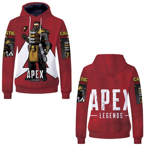 Game Apex Legends Gibraltar Skin Cosplay Sweater Hoodie