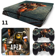 Load image into Gallery viewer, Game Apex Legends Skin For PS4 Slim Console +2Pcs Controller Protective