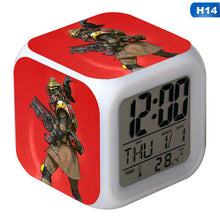 Load image into Gallery viewer, Apex Legends Square Figure LED 7Color Changing Night Light Alarm Clock Gift New
