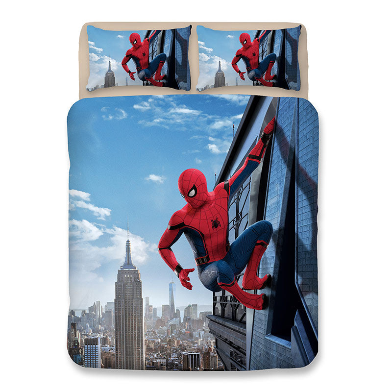 Spider-Man Homecoming Bedding Set Duvet Cover Set Bedroom Set Bedlinen 3D Bag