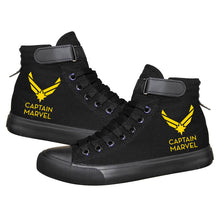 Load image into Gallery viewer, Movie Captain Marvel Carol Danvers High Tops Casual Canvas Shoes Unisex Sneakers