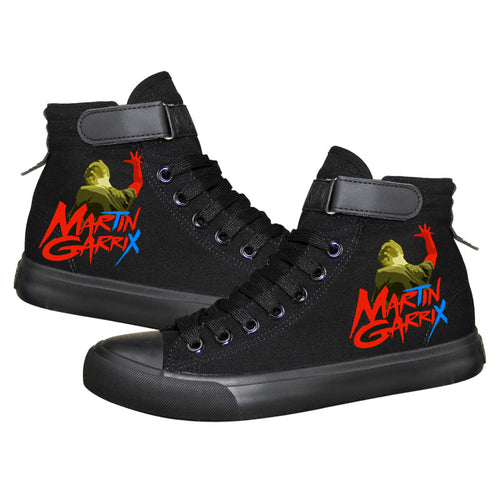 DJ Martin Garrix High Tops Casual Canvas Shoes Unisex Sneakers