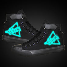 Load image into Gallery viewer, DJ Martin Garrix High Tops Casual Canvas Shoes Unisex Sneakers Luminous