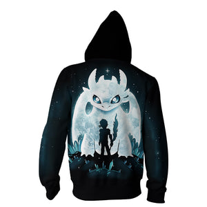How to Train Your Dragon 3 The Hidden World Toothless Cosplay Costume Hooded Sweater Coat
