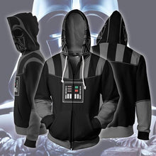 Load image into Gallery viewer, Star Wars Darth Vader Cosplay Costume Hooded Sweater Coat