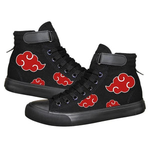 Anime Naruto High Tops Casual Canvas Shoes Unisex Sneakers
