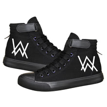 Load image into Gallery viewer, Hip Hop Alan Walker DJ High Tops Casual Canvas Shoes Unisex Sneakers Luminous