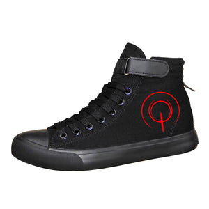 Fate Zero Saber High Tops Casual Canvas Shoes Unisex Sneakers